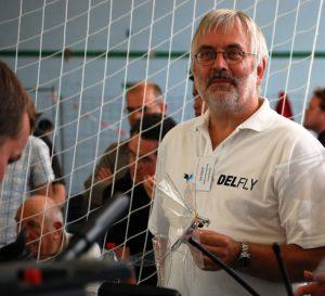 Rick Ruijsink with DelFly